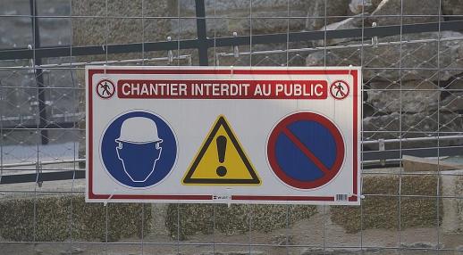 sécurité chantier industriel