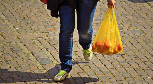 shopping sac plastique