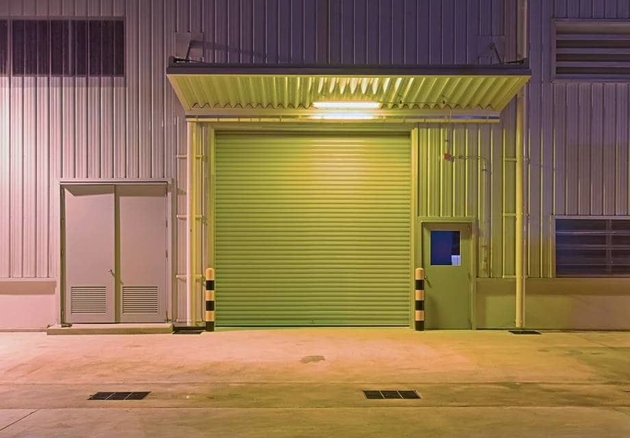 Porte de garage industriell